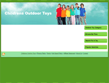 Tablet Preview of childrensoutdoortoys.net